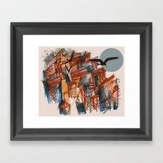 The City pt. 2 Framed Art Print
