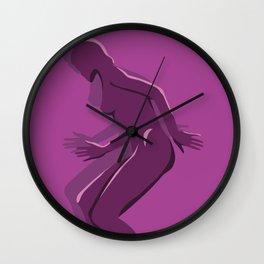MagentaLady_2 Wall Clock