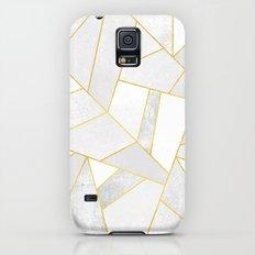 White Stone Galaxy S5 Slim Case