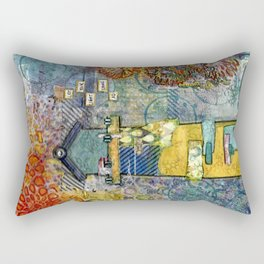 let your light shine Rectangular Pillow