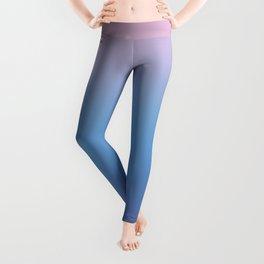 Ombre Pink Blue Ultra Violet Gradient Pattern Leggings