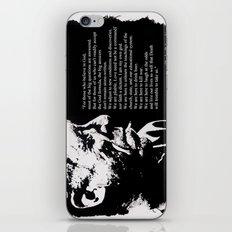 Charles BUKOWSKI - faith quote iPhone & iPod Skin