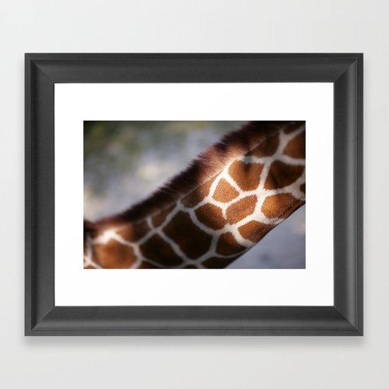 Giraffe #2 Framed Art Print