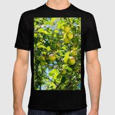 Swedish apples Mens Fitted Tee Black MEDIUM