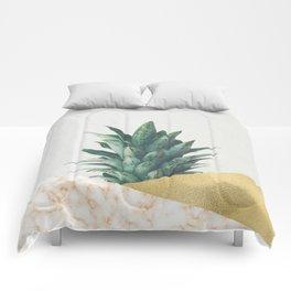 Pineapple Dip VII Comforters
