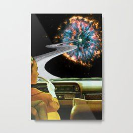 On the Road to the Akashic Library Metal Print