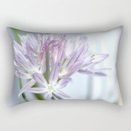 Flower | Flowers | Purple Chive | Kitchen Garden | Nadia Bonello Rectangular Pillow