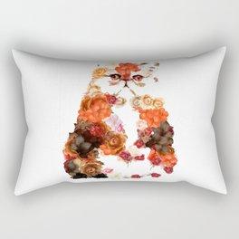 Portrait cute little kitten t-shirts Rectangular Pillow