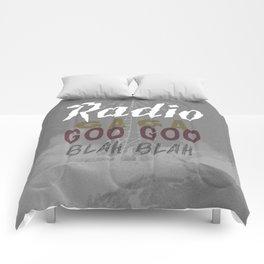 Radio Blah Blah Comforters