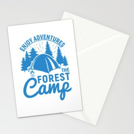Enjoy Adventures The Forest Camp wb Stationery Cards