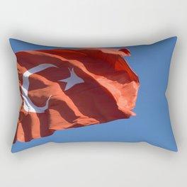 turkish flag Rectangular Pillow