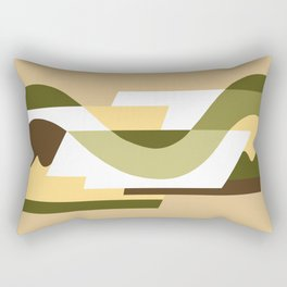 SUISSE - Art Deco Modern: LATE AUTUMN Rectangular Pillow