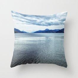 Loch Ness Scotland Throw Pillow