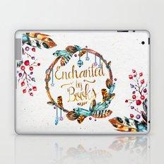 Enchanted by Books Laptop & iPad Skin