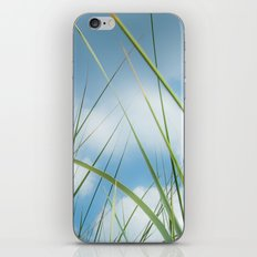 Dreaming in the grass pattern iPhone & iPod Skin