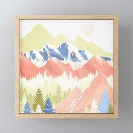 Spring Hills Framed Mini Art Print