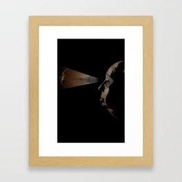 Hitchcock, Through the Eye Framed Art Print