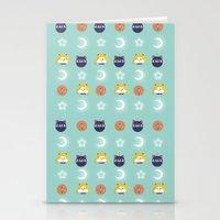 sailormoon Stationery Cards featuring SailorMoon MeyMey by Raimondo Tafuri