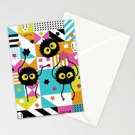 Spirited Away - Sootballs Stationery Cards