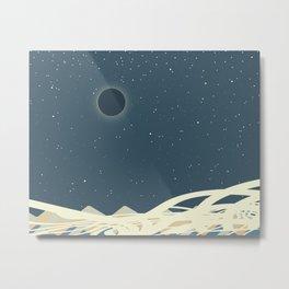 Total Solar Eclipse Art Metal Print