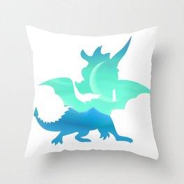 Spyro Sunny Flight Skybox Throw Pillow