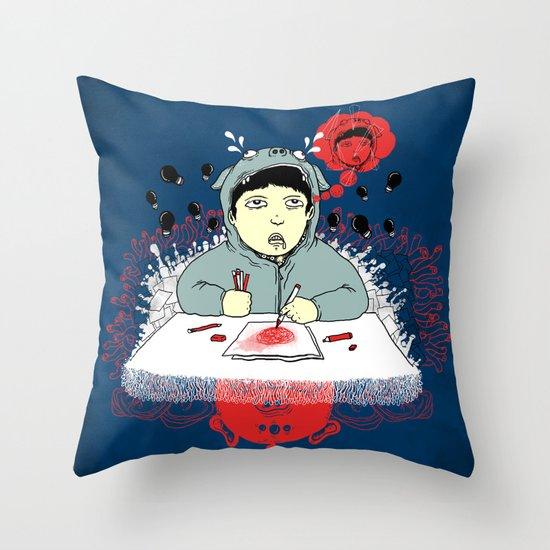 Creative Blank Throw Pillow