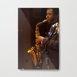Myron Walden from the Brian Blade and the Fellowship Band Metal Print