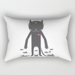 BLACK POND 2 Rectangular Pillow