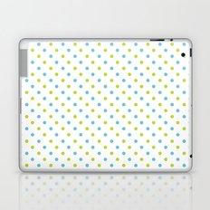 Fun Dots blue green Laptop & iPad Skin