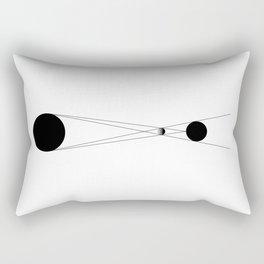 Icon of Eclipse Rectangular Pillow