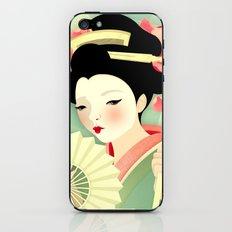 Geisha: Rose iPhone & iPod Skin