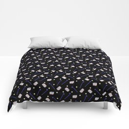 Flowers Crowbar and Sixpack Comforters