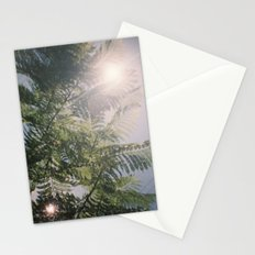 Flared Green Stationery Cards