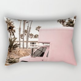 Blush Tropical Venice Rectangular Pillow