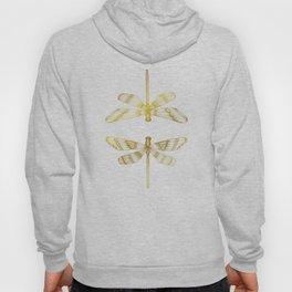 Golden Dragonflies Hoody