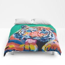 Wild Tiger Comforters