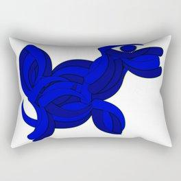The Legend of the Blue Dog Rectangular Pillow