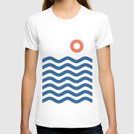 Nautical 02 Seascape T-shirt