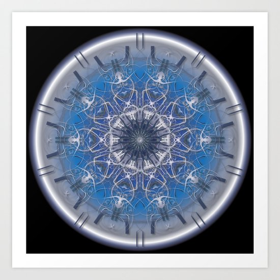 Blue Eye 1 Art Print