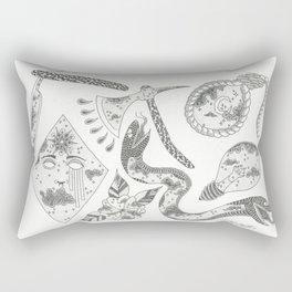 Sky Flashsheet Rectangular Pillow