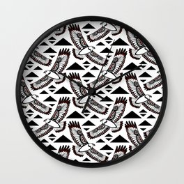 The Hawk's Flight Wall Clock