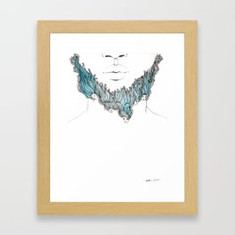 Bluebeard Framed Art Print