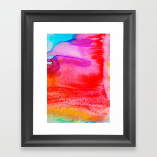 Rush Framed Art Print