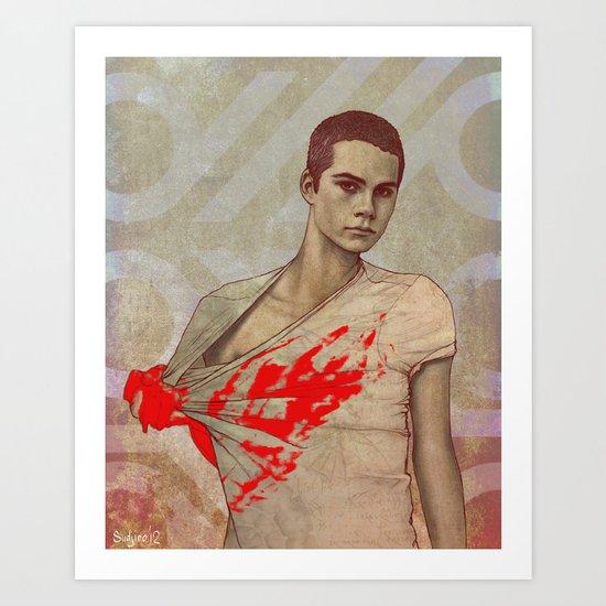 Stiles Stilinski Art Print