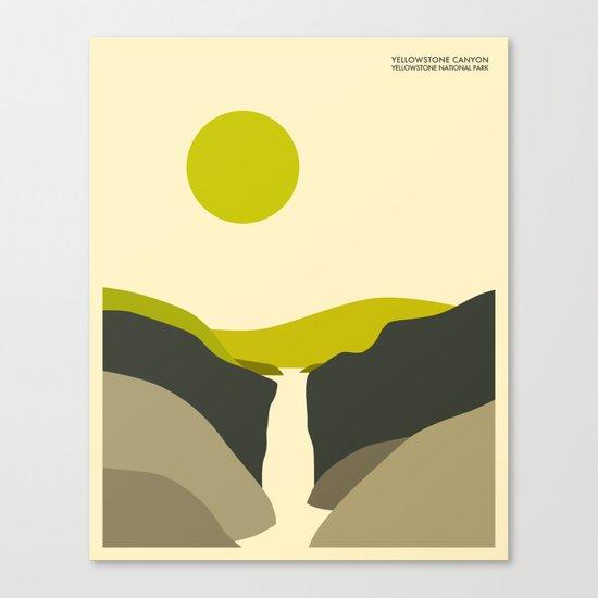 YELLOWSTONE NATIONAL PARK Canvas Print