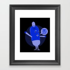 collaborate more Framed Art Print
