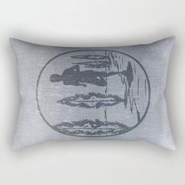 Running Rectangular Pillow