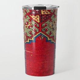 Mujur Central Anatolian Niche Rug Print Travel Mug