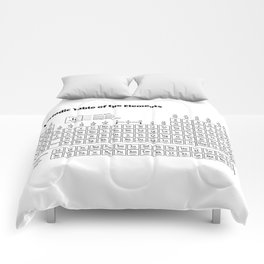 Periodic Table of the Elements Comforters