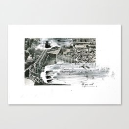 'Decline' (2) Canvas Print